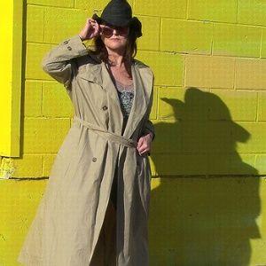 Ralph Lauren Khaki Trench Coat Women's Size 10